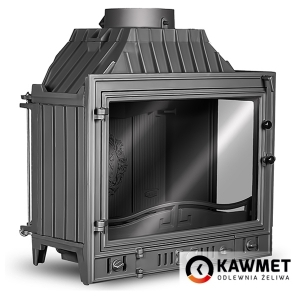 Камінна топка KAWMET W4 праве бокове скло (14.5 kW). Фото 5