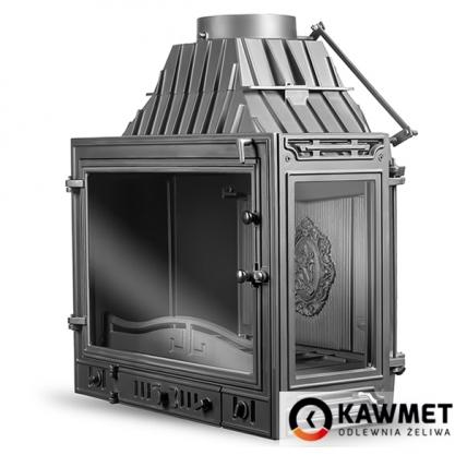 Каминная топка KAWMET W3 с правым боковым стеклом (16.7 kW). Фото 4