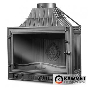 Каминная топка KAWMET W3 с правым боковым стеклом (16.7 kW). Фото 7