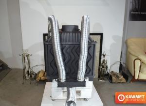 Долот (адаптер) стальной для подачи воздуха снаружи KAWMET к моделям W17 16,1 kW /12,3 kW Eco