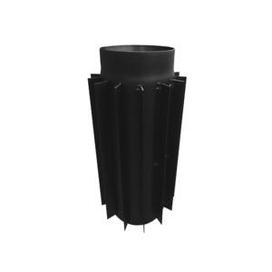 Труба радиатор для дымохода KAISER PIPES (2мм) 50 см Ø200. Фото 2