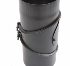 Димохідне коліно KAISER PIPES 90 ° універсальне регульоване (2 мм) Ø200. Фото 2