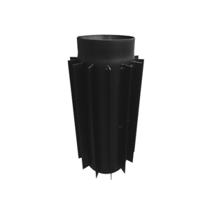 Труба радиатор для дымохода KAISER PIPES (2мм) 50 см Ø150. Фото 2