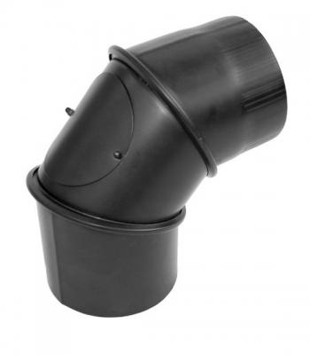 Димохідне коліно KAISER PIPES 90 ° універсальне регульоване (2 мм) Ø150