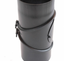 Димохідне коліно KAISER PIPES 90 ° універсальне регульоване (2 мм) Ø150. Фото 2