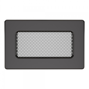 Вентиляційна решітка для каміна SAVEN 11х17 графітова
