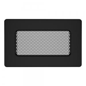 Вентиляційна решітка для каміна SAVEN 11х17 чорна