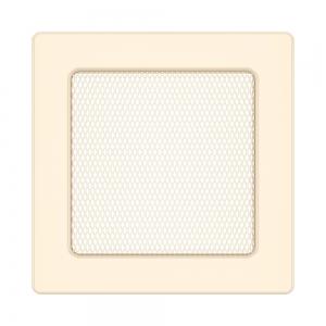 Вентиляционная решетка для камина SAVEN 17х17 кремовая