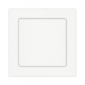 Вентиляционная решетка для камина SAVEN 17х17 белая