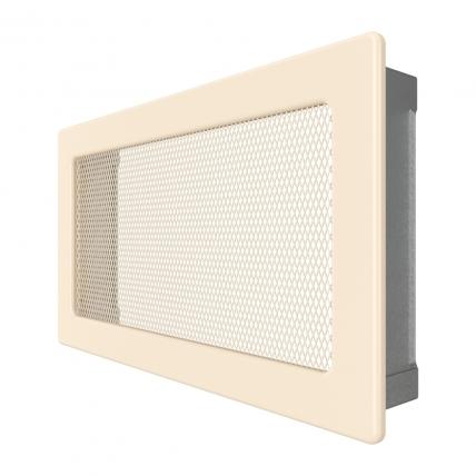 Вентиляционная решетка для камина SAVEN 17х30 кремовая. Фото 2