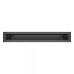 Вентиляційна решітка для каміна SAVEN Loft 60х400 графітова