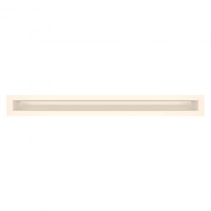 Вентиляционная решетка для камина SAVEN Loft 60х600 кремовая