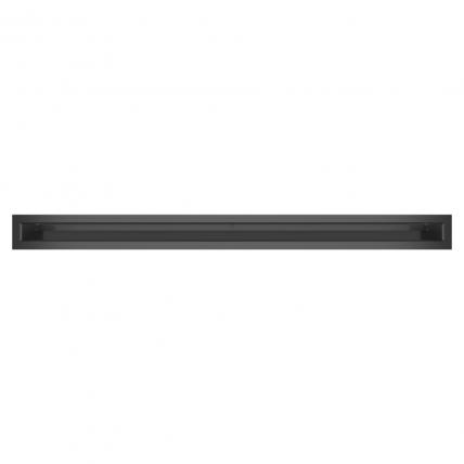 Вентиляционная решетка для камина SAVEN Loft 60х800 графитовая