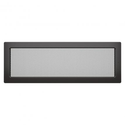 Вентиляційна решітка для каміна SAVEN 17х49 графітова
