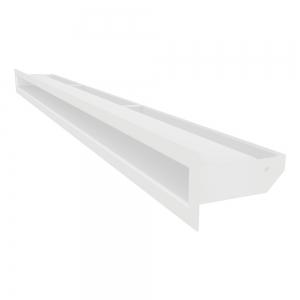 Вентиляційна решітка для каміна SAVEN Loft 60х1000 біла. Фото 2