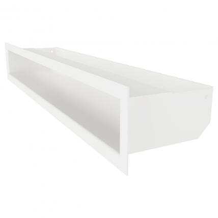 Вентиляционная решетка для камина SAVEN Loft 90х600 белая. Фото 2