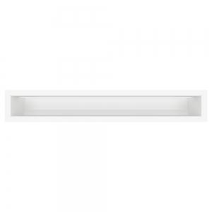 Вентиляционная решетка для камина SAVEN Loft 90х600 белая