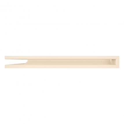 Вентиляционная решетка для камина угловая левая SAVEN Loft Angle 60х600х800 кремовая. Фото 3