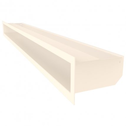 Вентиляционная решетка для камина SAVEN Loft 90х1000 кремовая. Фото 2