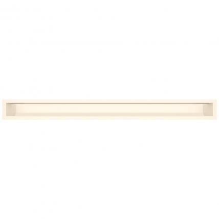 Вентиляционная решетка для камина SAVEN Loft 90х1000 кремовая