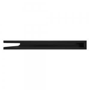 Вентиляційна решітка для каміна кутова ліва SAVEN Loft Angle 60х600х800 чорна. Фото 3