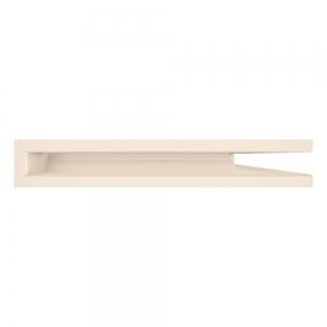 Вентиляционная решетка для камина угловая права SAVEN Loft Angle 60х600х400 кремовая. Фото 3