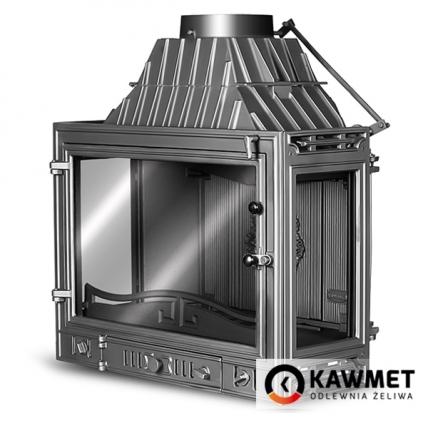 Камінна топка KAWMET W3 трьохстороння (16.7 kW). Фото 4