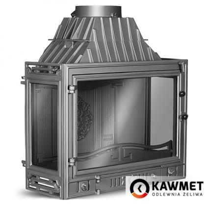 Камінна топка KAWMET W3 трьохстороння (16.7 kW). Фото 5