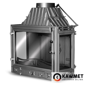 Каминная топка KAWMET W3 трехсторонняя (16,7 kW). Фото 4
