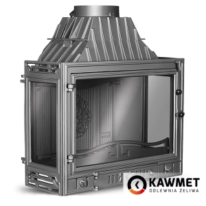 Каминная топка KAWMET W3 трехсторонняя (16,7 kW). Фото 5