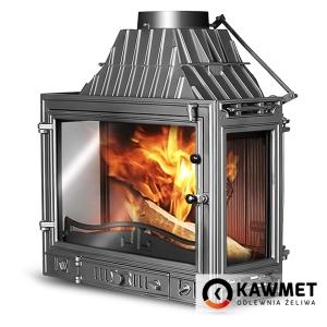 Каминная топка KAWMET W3 трехсторонняя (16,7 kW)