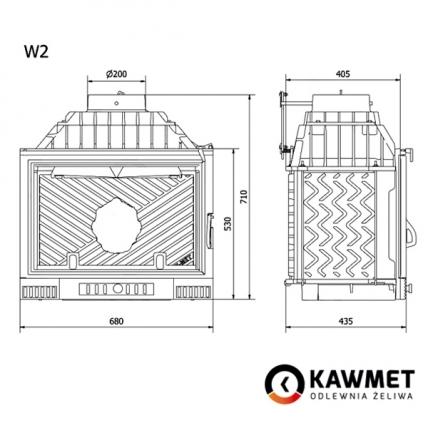 Каминная топка KAWMET W2 (14,4 kW). Фото 10