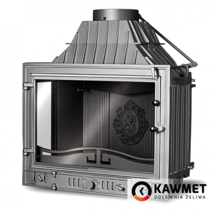 Каминная топка KAWMET W3 с левым боковым стеклом (16.7 kW). Фото 4