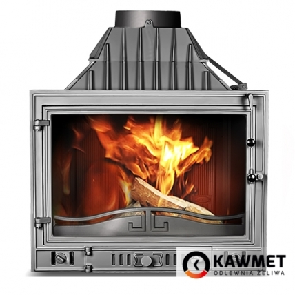 Каминная топка KAWMET W3 с левым боковым стеклом (16.7 kW). Фото 2