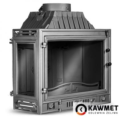 Каминная топка KAWMET W4 с левым боковым стеклом (14.5 kW). Фото 4