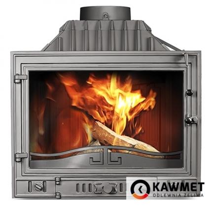 Каминная топка KAWMET W4 с левым боковым стеклом (14.5 kW). Фото 3