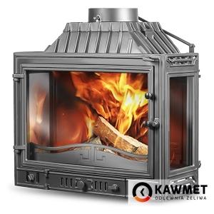 Камінна топка KAWMET W4 трьохстороння (14.5 kW)