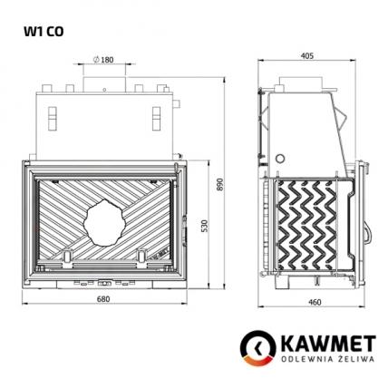 Камінна топка KAWMET W1 CO (18.7 kW). Фото 9